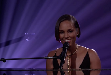 alicia keys itunes festival
