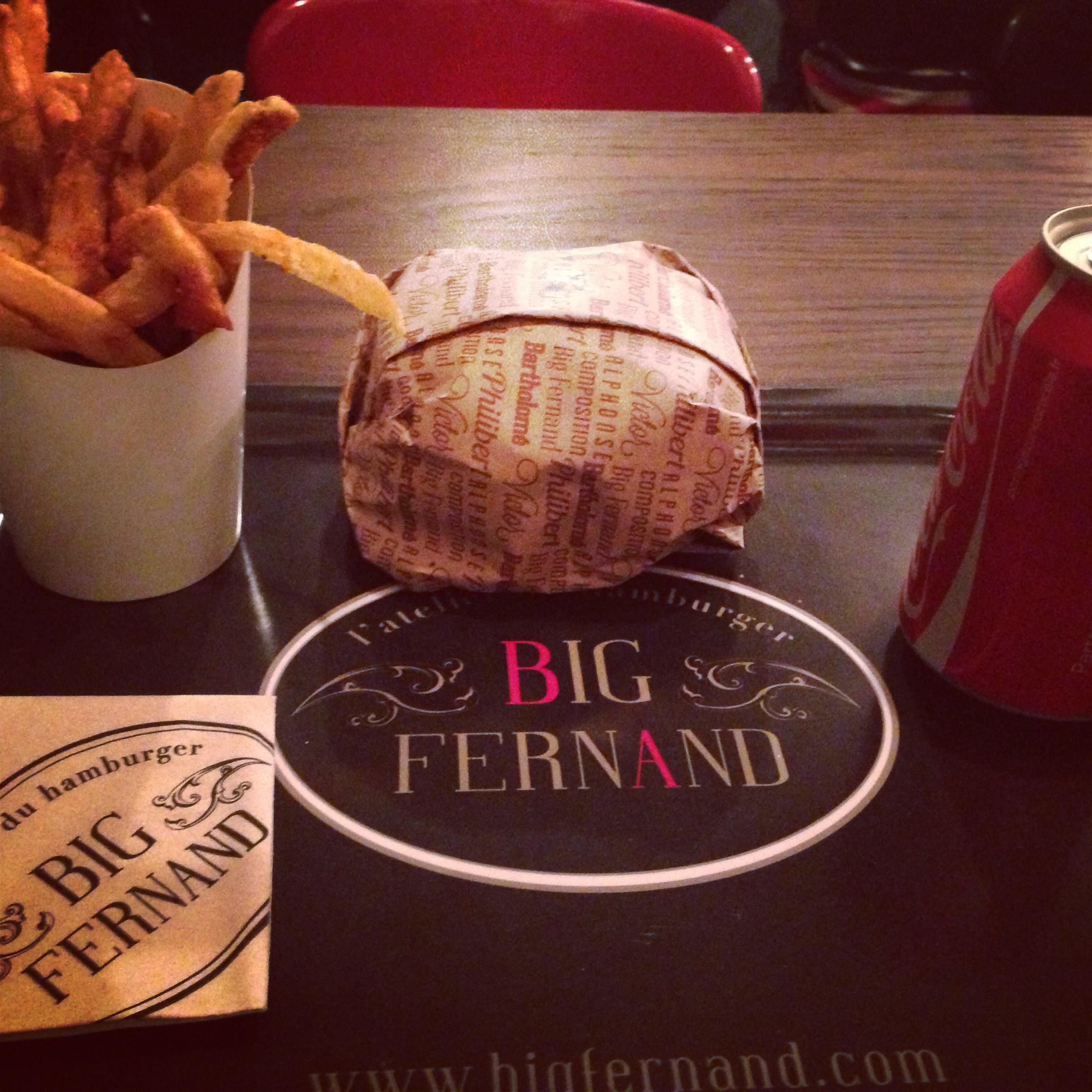 big fernand hamburger à paris