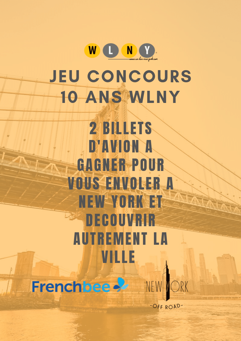 jeu concours WLNY x French Bee