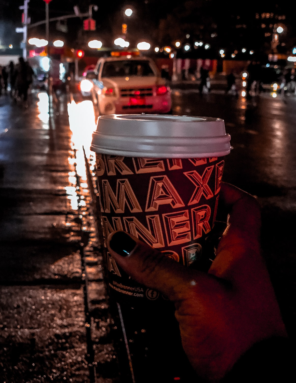 Max Brenner hot chocolate