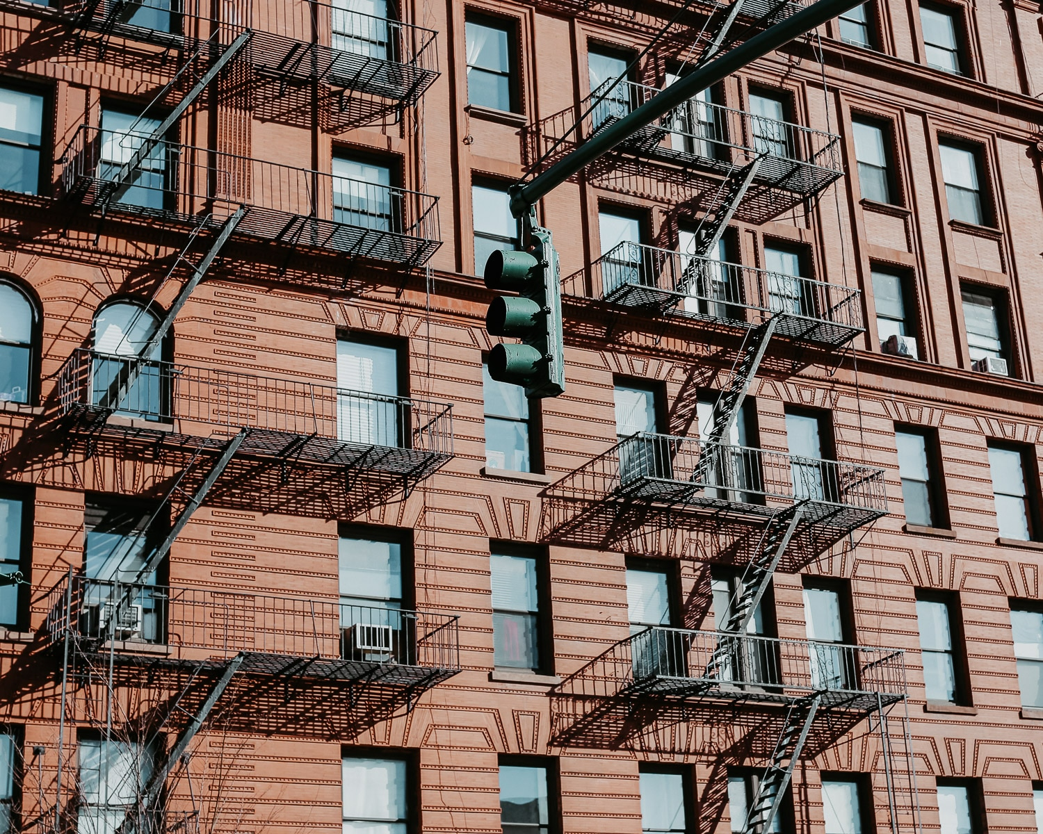 immeubles escaliers new york - une semaine à New York mes astuces