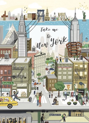 "COUV-1 Guide New York : ""Take me to New York #2"""