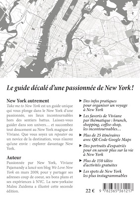 "COUV-4 Guide New York : ""Take me to New York #2"""