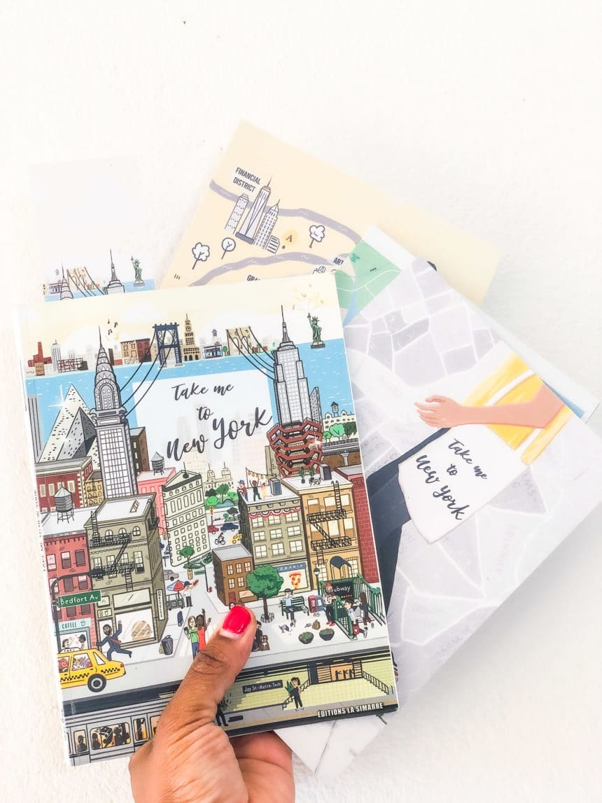 Guide New York 2020 - marque page - cartes offertes