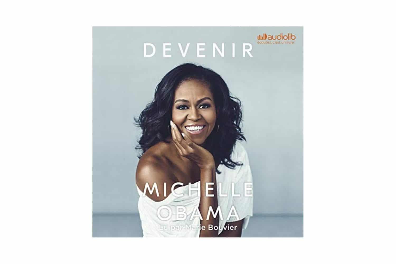 DEVENIR-MICHELLE-OBAMA 5 livres audio gratuits Audible parmi les best sellers dans les librairies à New York !
