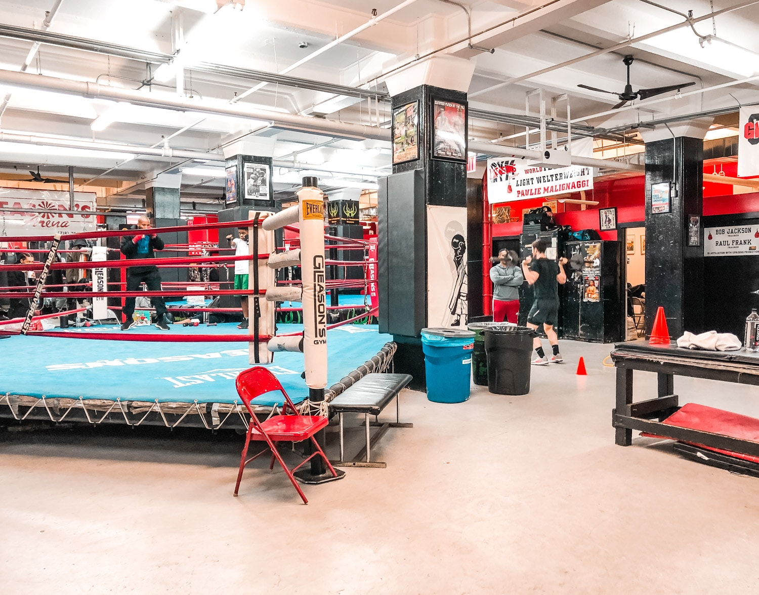 Gleason's Gym salle de boxe new york
