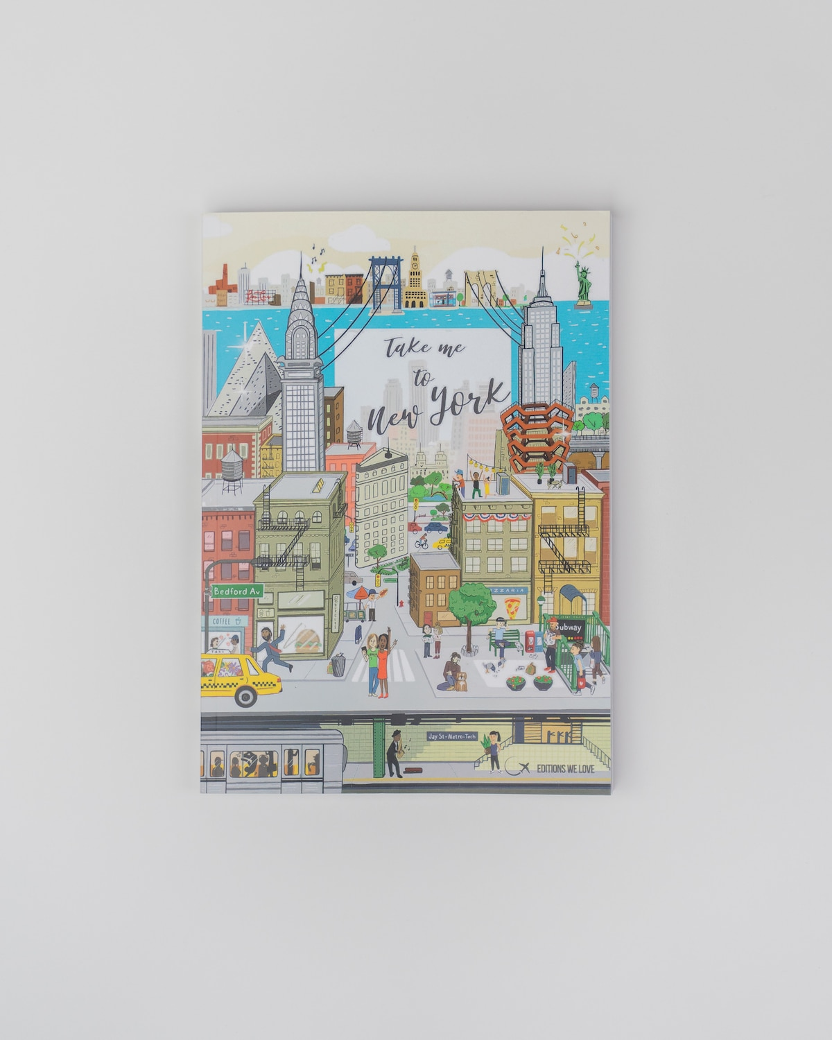 Livre Take me to New York