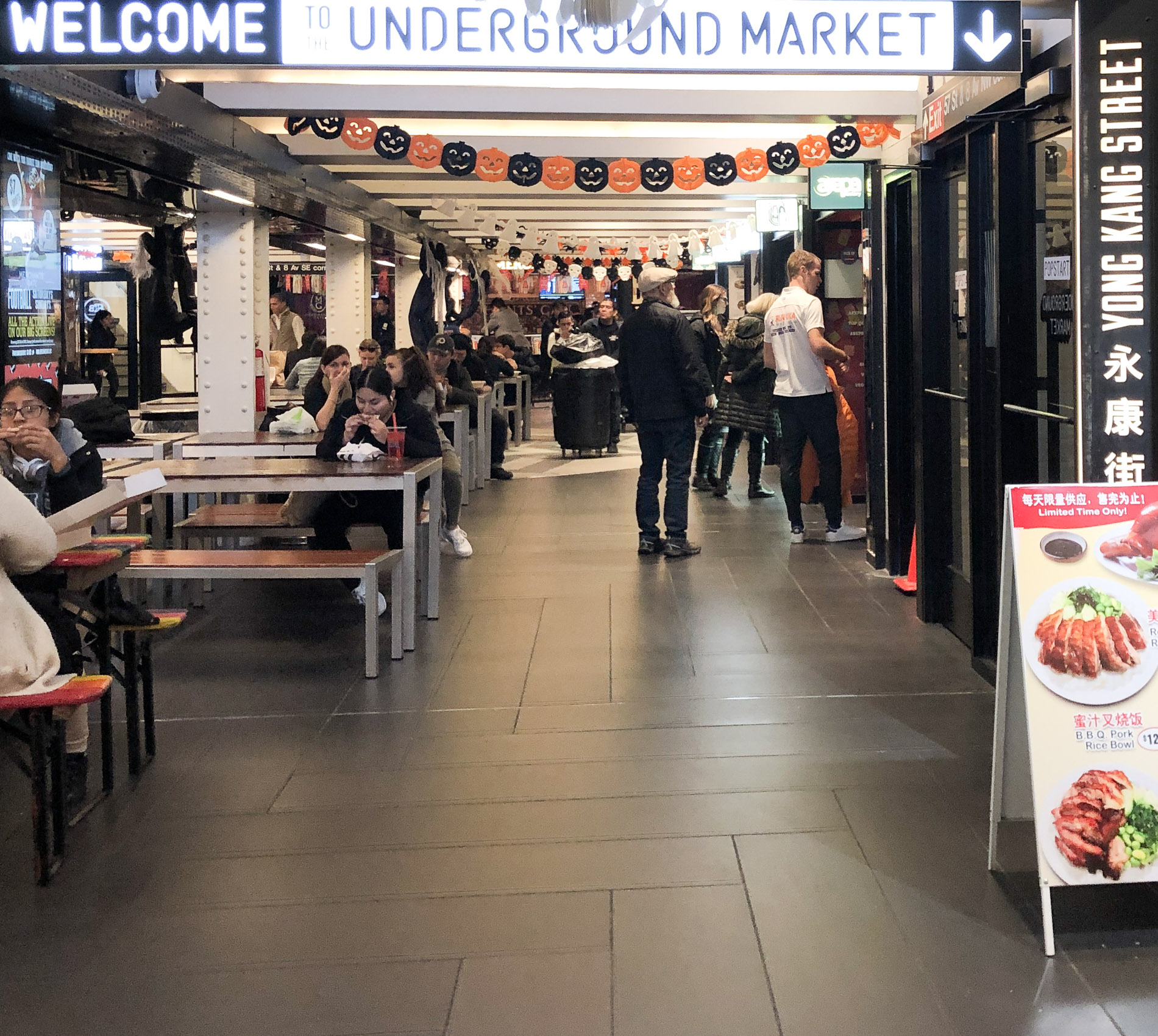welcome-to-underground-market Turnstyle Underground Market, ce food court souterrain près de Central Park