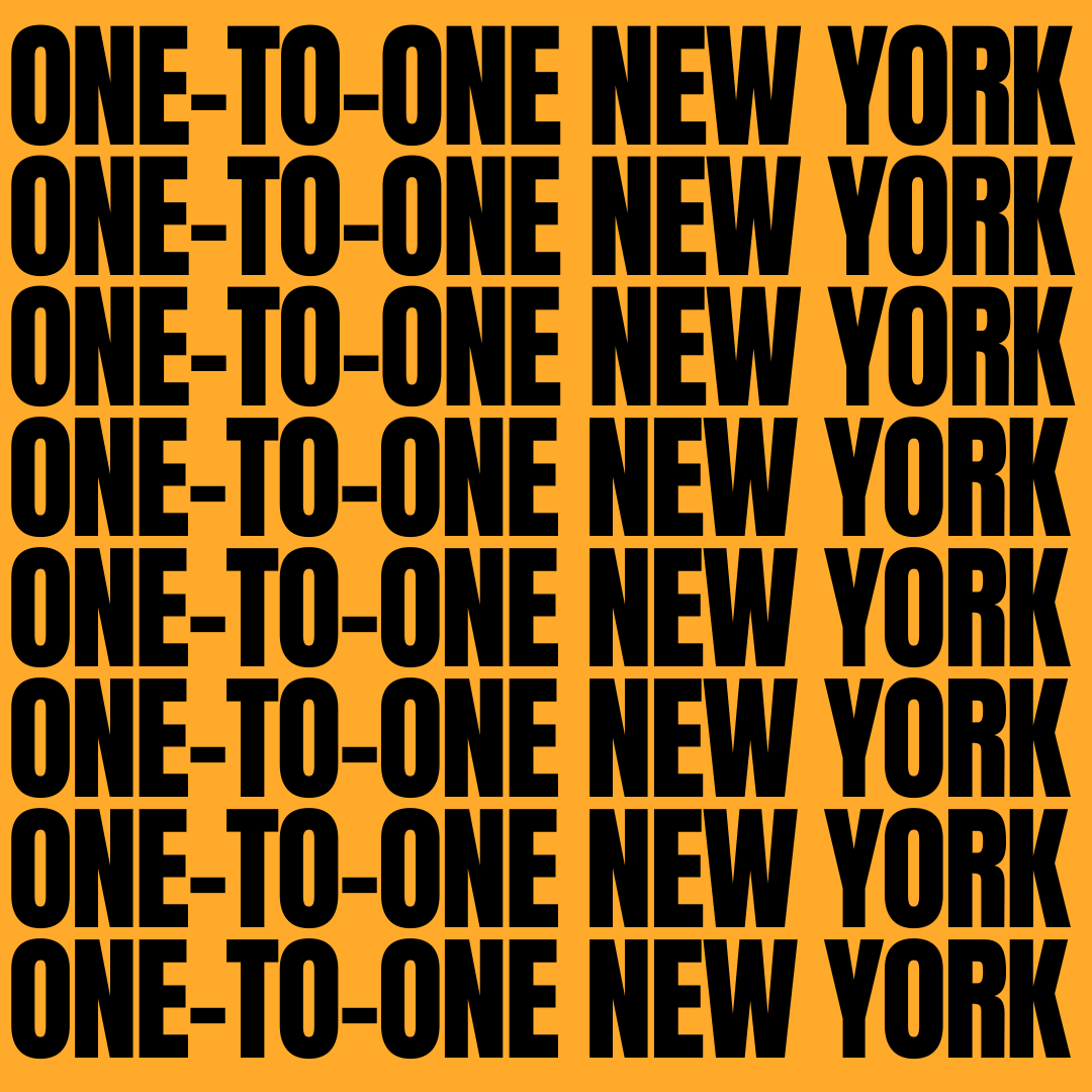 ONE TO ONE NEW YORK CLUB MEMBRE WE LOVE NEW YORK